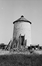 The former tower mill at Watchfield, Somerset, 1940
