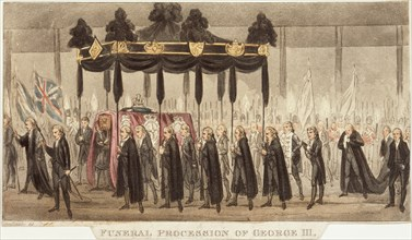 'Funeral Procession of George III', 1820. Artist: Unknown