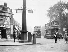 Cambridge Heath Road, Hackney, London, 1930. Artist: Unknown