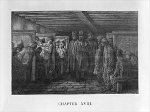 'A Whitechapel Coffee House', 1872. Artist: Adolphe François Pannemaker