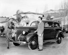 1939 Chevrolet coach J series, (c1939?). Artist: Unknown