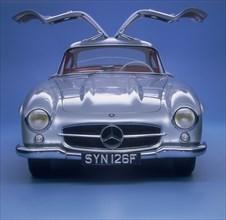 1957 Mercedes Benz 300 SL Gullwing. Artist: Unknown