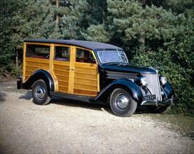 1936 Ford V8 Woody model 68 Utility car. Artist: Unknown
