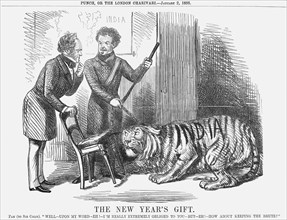 'The New Year's Gift', 1858. Artist: Unknown