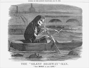 'The Silent Highway - Man', 1858. Artist: Unknown