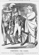 'Something for Paddy', 1864. Artist: John Tenniel