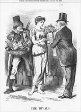 'The Rivals', 1881. Artist: Joseph Swain