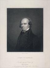 Portrait of John Flaxman, c1800.  Artist: Richard Woodman