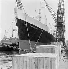 Imperial Star' moored at the London Docks, July 1965
