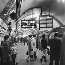 Piccadilly Circus Station, London, 1960-1965