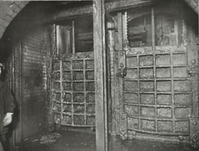 Sewer sluice gates, London, 1939. Artist: Unknown.
