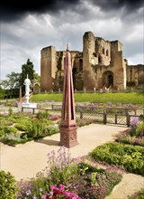 Elizabethan garden, Kenilworth Castle, Warwickshire, 2009
