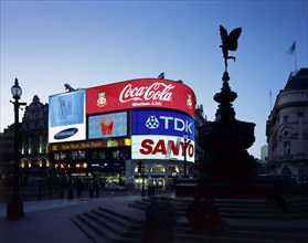 Piccadilly Circus, c1990-2010