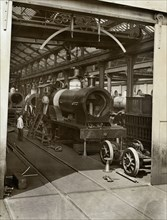 Crewe Locomotive Works, Forge Street, Crewe, Cheshire, 1910