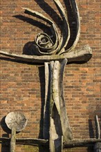 Sculpture, Chapel of the Ascension, University of Chichester, West Sussex, 2015