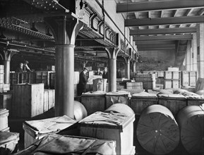 London and North West Railway Company goods shed, Leicester, Leicestershire, 1927