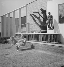 Homes and Gardens Pavilion, Festival of Britain, South Bank, Lambeth, London, 1951