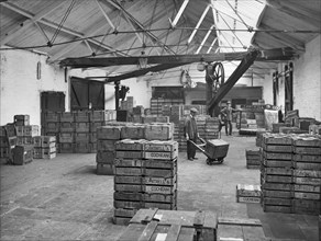 Goods shed, West Lancashire Station, Fishergate Hill, Preston, Lancashire, 1927