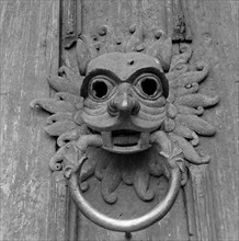 Door knocker, Durham Cathedral, c1945-c1980
