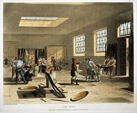 The Mint, London, 1808-1811 Artist: Augustus Charles Pugin