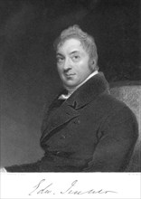 Edward Jenner, English physician, 1800. Artist: Unknown