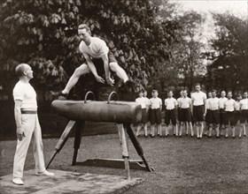 Gym class, 1933. Artist: Unknown