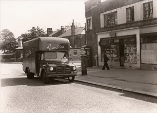 A Rowntree delivery lorry, 1955. Artist: Unknown