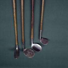 Golf clubs, c1890-c1920.  Artist: Standard Golf Company