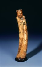 Ivory immortal with reed pipes, late Ming dynasty, China, 1550-1644. Artist: Unknown