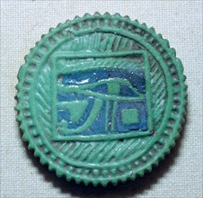 Egyptian faience amulet. Artist: Unknown