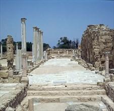 The Greek Gymnasium in Salamis. Artist: Unknown