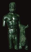 Roman bronze of Hercules. Artist: Unknown