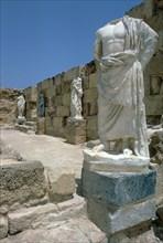 Roman Gymnasium, c.4th century BC. Artist: Unknown