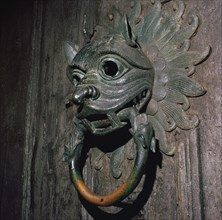 Sanctuary Knocker from Durham Cathedral, 12th century. Artist: Unknown