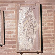 Soldier of the 4th Crusade, Mosaic in church of San Giovanni Evangelista, 13th century. Artist: Unknown.