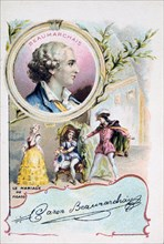 Beaumarchais and The Marriage of Figaro, 1784 (c1900). Artist: Unknown