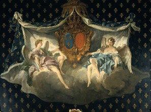 'Allegory of France and Navarre', 1740. Artist: François Boucher