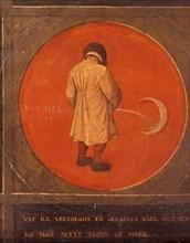 'Whatever I do, I do not Repent, I Keep Pissing against the Moon', c1558-1560. Artist: Pieter Bruegel the Elder