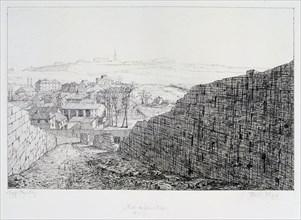 Fort de Bicetre, Siege of Paris, 1870-1871. Artist: Paul Roux