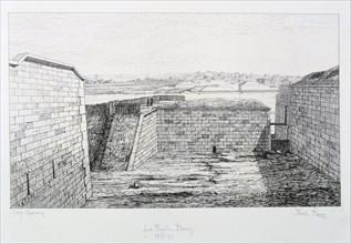 La Rapee-Bercy, Siege of Paris, 1870-1871.  Artist: Paul Roux