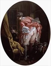 'The Raised Skirt', 1742. Artist: François Boucher