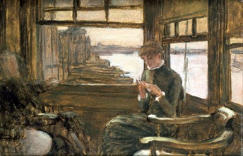 'The Departure', 19th/early 20th century. Artist: James Tissot