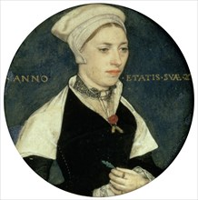 'Portrait of Mrs Pemberton', c1535. Artist: Hans Holbein the Younger