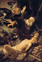 'The Sacrifice of Isaac', 1635. Artist: Rembrandt Harmensz van Rijn
