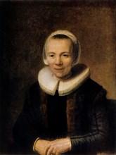 'Portrait of Baertje Martens', 1649. Artist: Rembrandt Harmensz van Rijn