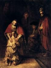 'The Return of the Prodigal Son', c1668. Artist: Rembrandt Harmensz van Rijn