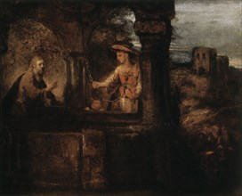 'Christ and the Woman of Samaria', 1659.  Artist: Rembrandt Harmensz van Rijn