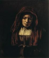 'Portrait of an Old Woman', 1654. Artist: Rembrandt Harmensz van Rijn