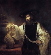 'Aristotle Before the Bust of Homer', 1653. Artist: Rembrandt Harmensz van Rijn