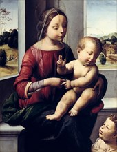'Madonna and Child with the Young Saint John the Baptist', c1497. Artist: Fra Bartolomeo